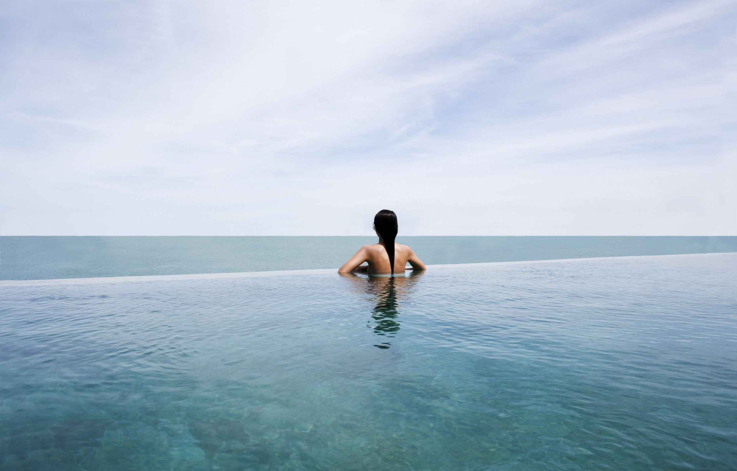 Useful information about infinity pools